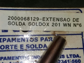 Extensao De Solda Soldax 201 N6