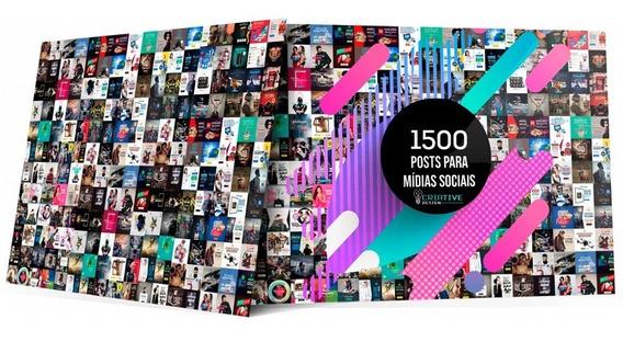 Pack 1500 Artes Instagram Mídias Sociais Editáveis Photoshop