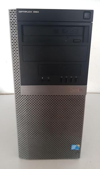 Cpu Dell Optiplex 980 Core I5 4gb Ram 500 Gb Usado Ref: Q100
