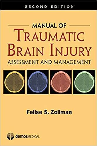 2016 Manual Of Traumatic Brain Injury, Assessment And Manage