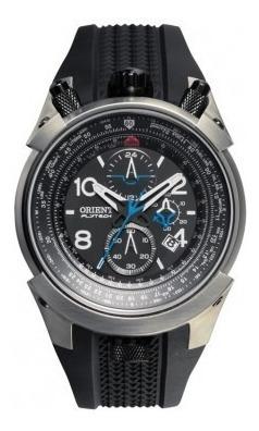 Relógio Orient Flytech Titanium Mbtpc003 P2px - Silicone