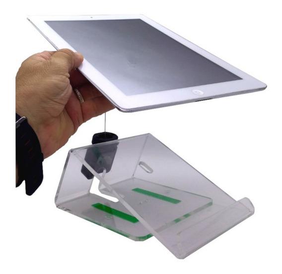 Suporte De Mesa Para iPad E Tablet Com Cabo De Aço-15917