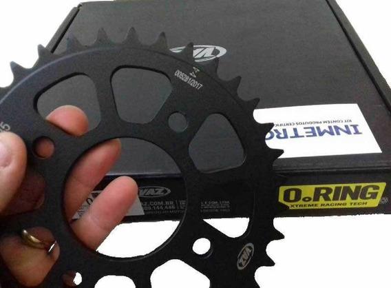 Kit Relação Completo Cbx Twister 250 Com Retentor Aço 1045