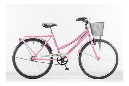 Bicicleta paseo Futura Country R26 frenos v-brakes color rosa