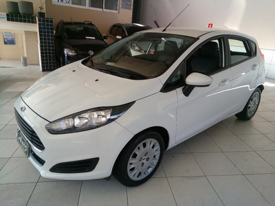 Ford Newfiesta S 1.5 2015 Completo Branco