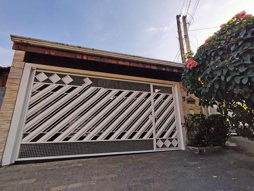 Imagem 1 de 25 de Casa À Venda, 3 Quartos, 1 Suíte, 2 Vagas, Santa Cruz - Americana/sp - 4499
