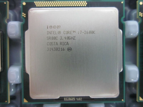 Processador Intel I7-2600k 3.4 Ghz