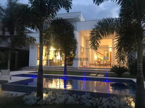Casa Com 4 Dormitórios À Venda, 426 M² Por R$ 2.950.000,00 - Condomínio Campos De Santo Antônio - Itu/sp - Ca1592