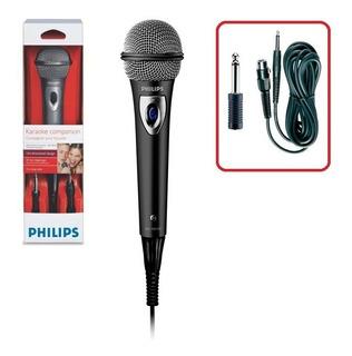Microfono Con Cable Philips Sbc-md150 Profesional