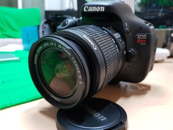 Câmara Profissional Canon T3i + Lente