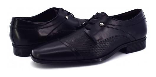 Zapatos Gino Cherruti 3123 Atanado Negro 25.0 - 30.0 Caball