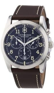 Reloj De Acero Inoxidable Marron Victorinox 241567 Infantry