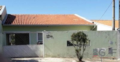 Casa Residencial À Venda, Jardim Anton Von Zuben, Campinas. - Ca3228