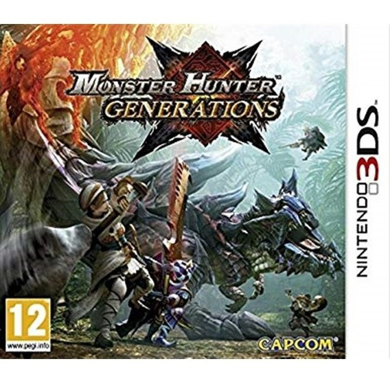 Monster Hunter Generations 3ds Lacrado