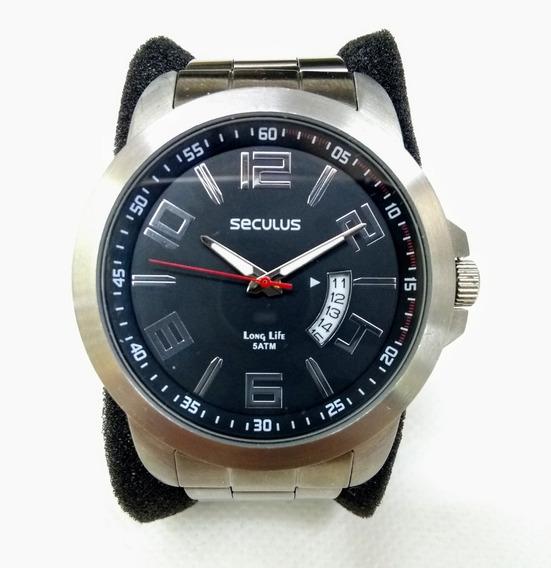 Relógio Masculino Seculus 28662g0svna1 Prata- Leia O Anúncio