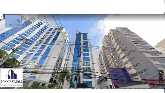 Sala Comercial Para Locação Em Moema, 1 Divisória, 1 Vaga De Garagem, 1 Banheiro, 1 Copa, 38 M², São Paulo. - Sa0429