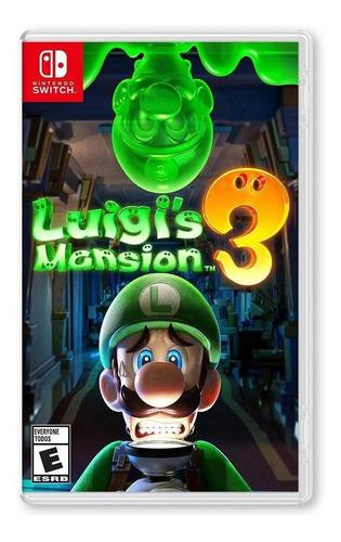Imagen 1 de 4 de Luigis Mansion 3 - Nsw