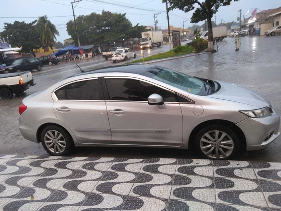Honda Civic Lxs 1.8 2012/13 Completo , Top!