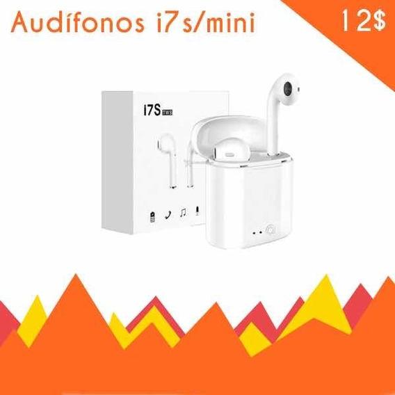 Audífonos Inalámbricos I7s Bluetooth Android iPhone *12us*