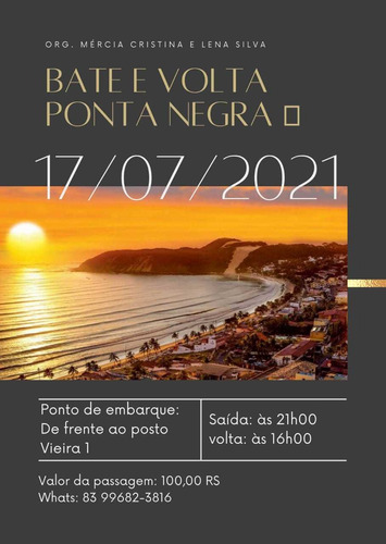 Bate Volta Ponta Negra Natal