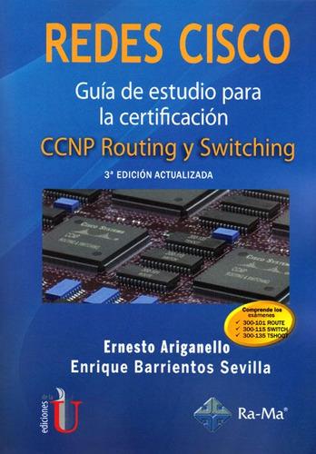Imagen 1 de 2 de Redes Cisco: Guía De Estudio Para La Certificación  Ccnp Rou