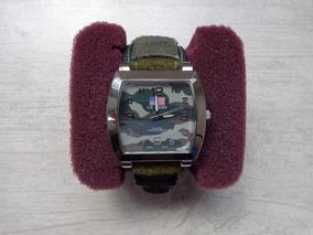 Excelente Relógio Us Army Militar C/bússola - Made In Japan
