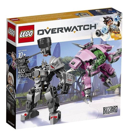 Blocos De Montar Lego Overwatch Dva E Reinhardt 75973
