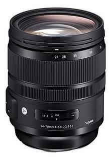 Lente Sigma 24-70 Mm F / 2.8 Arte Dg Os Hsm Para Nikon F