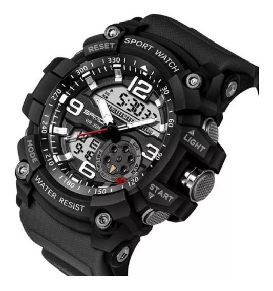 Relógio Masculino Sanda Sport / Militar - G-shock