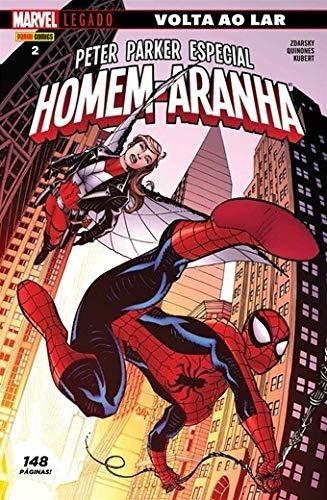 Peter Parker Especial Homem-aranha Legado Volta Ao Lar