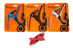 Braçadeira Capotraste Dolphin Kit 3 + 2 Afinador Phx