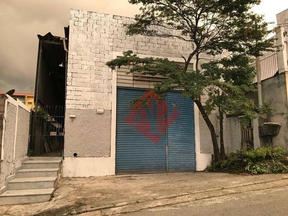 Galpão À Venda, 300 M² Por R$ 980.000 - Vila Morellato - Barueri/sp - Ga0101