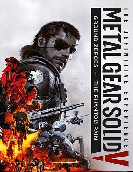 Metal Gear Solid V Definitive Pc - 100% Original (steam Key)