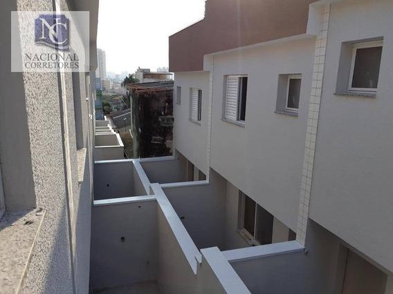 Sobrado Com 2 Dormitórios À Venda, 88 M² Por R$ 315.000,00 - Vila Curuçá - Santo André/sp - So2825