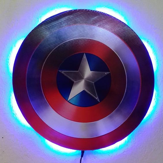 Capitan America Lampara Led, Escudo, Avengers..
