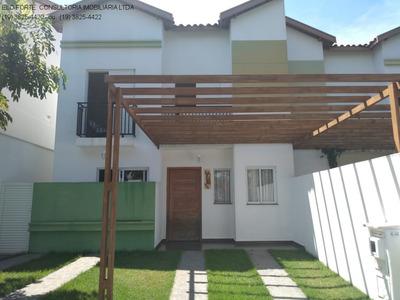 Casa Sobrado - Parque Dos Guarantas Casa Com At: 130 M² E Ac: 122 M²; Em Condomínio Fechado Com Portaria 24 Hs, Playground, Salão De Festas, 2 Piscin - Ca04458 - 33707832