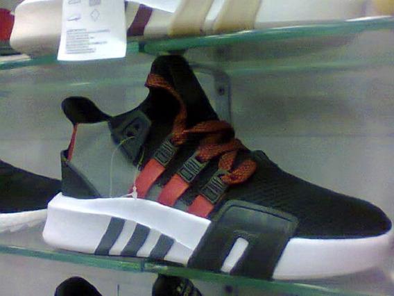 Tenis adidas Eqt Basquete Preto/vermelho/cinza Nº42 Original
