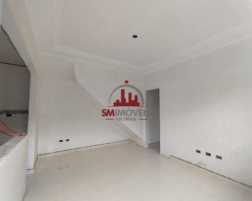 Imagem 1 de 12 de Casa Sobreposta Alta, Tude Bastos - Praia Grande / Sp - Ca00273 - 68083602