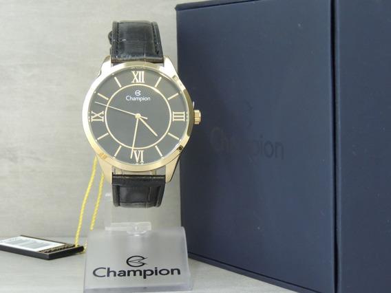 Relógio Champion Masculino - Cn20579p - Nf E Garantia