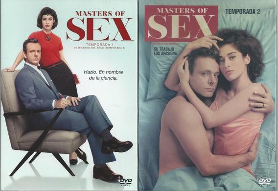 Masters Of Sex Box 1a Y 2a Temporada Dvd Nac. Slipcover C/u