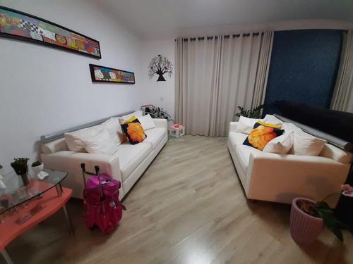 Imagem 1 de 22 de Apartamento À Venda, 3 Quartos, 3 Suítes, 3 Vagas, Campestre - Santo André/sp - 47104