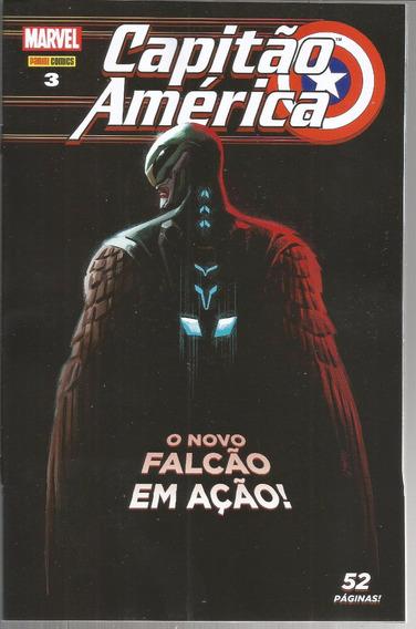 Capitao America 3 1ª Serie - Panini 03 - Bonellihq Cx84 G19