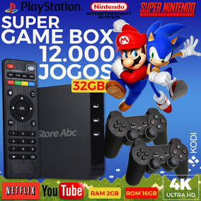 Super Game Box Video Game Retro Multijogos Com 12.000 Jogos