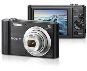 Câmera Digital Sony Dsc W800 20.1mp 5x Preta