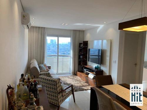 Apartamento À Venda, 70 M² Por R$ 430.000,00 - Moinho Velho - São Paulo/sp - Ap3608