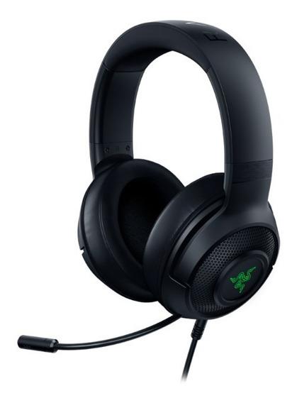 Headset Gamer Razer Kraken X Usb - 7.1 Virtual