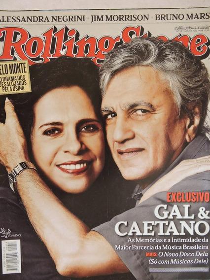 Revista Rolling Stone Nº 58-pink Floyd,rita Lee,caetano,jim