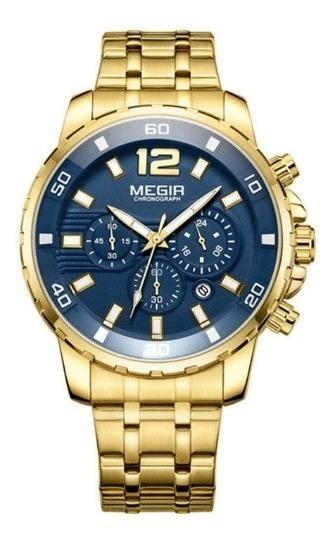 Relógio Masculino Megir 2068 Analógico Oferta