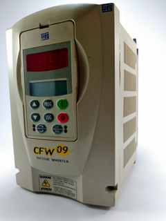 Inversor De Frequência Weg Cfw09 4cv 220v 3kw Com Garantia