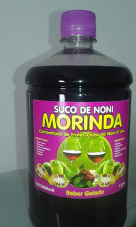 Kit 3 Litros Suco Natural Noni Original Extrato 100% Puro